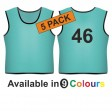Training bib - Printed number back 5 Pack
