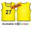 Training bib - Printed number front 5 Pack
