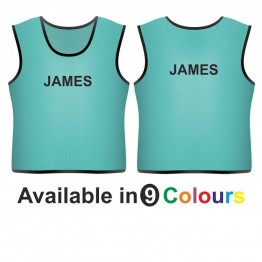 Training bib - printed name front & back